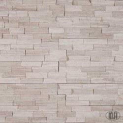 White Oak Marble Split Face Ledger Stone, per s/f