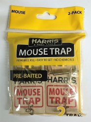 Mouse Traps, 2-pack, pre-baited, WMT-2