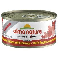 Chicken & Shrimps, Case of 24, 70g Cans