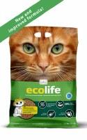 Ecolife Natural Clumping Litter 5.5kg