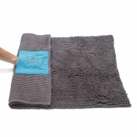 Microfiber Drying Mat Cool Grey, Large