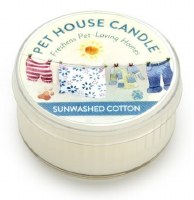 Sunwashed Cotton Mini Candle