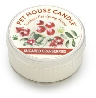 Sugared Cranberries Mini Candle