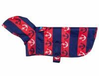 Packable Rain Poncho Nautical, XSmall