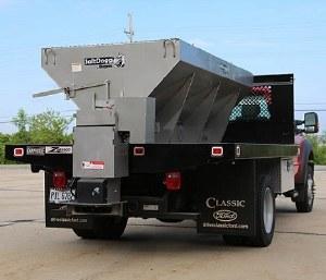 SaltDogg 10', 3 yd. Stainless Steel Gas Spreader