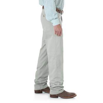 MNS WRANGLER RIATA RELAXED FIT PUTTY 40