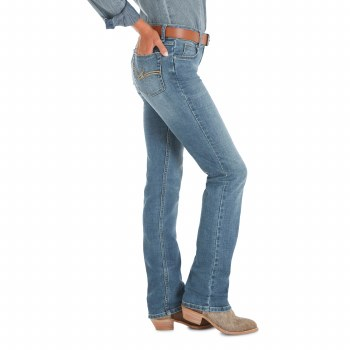 Wrangler Midrise Straight Leg 7 36