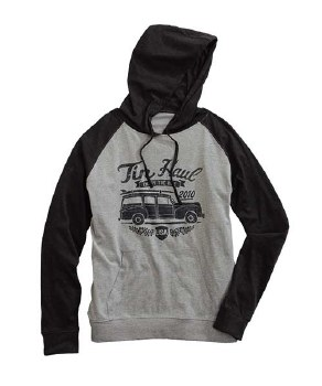 Tin Haul Car Logo Hoodie Black XXL