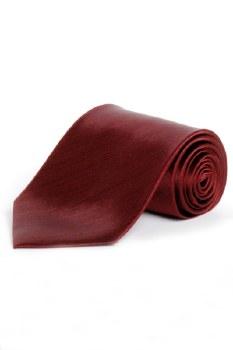 100% Silk Tie Burgandy