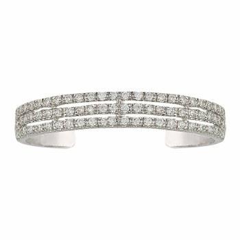 Triple the Delight Cuff Bracelet