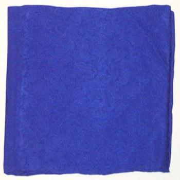 JACQUARD ROYAL BLUE WILD RAG