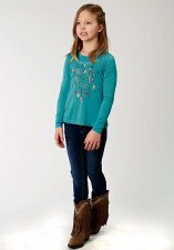 Dreamcatcher Jersey Turquoise XS