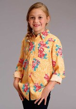 Spring Floral Western Yellow S