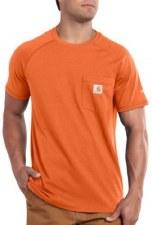 Force Cotton SS Tee Orange MEDIUM REG