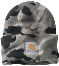Camo Watch Hat Gray