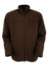Brown Leroy Mens Jacket XL REG