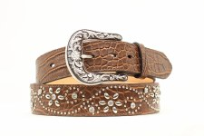 Ariat Flower Concho Belt SML