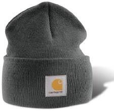 Acrylic Watch Hat Coal Hthr