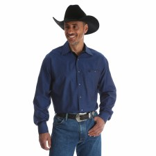 George Strait Troubadour Blue/Black MED