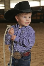 Infant Cinch Shirt Purp 3M
