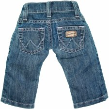 INFANT BOYS JEAN ADJUST WAIST 6-9 JEANS
