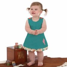 Wrangler Baby Cactus Dress 6-9M