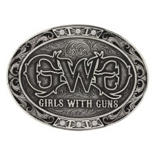 Girls With Guns Buckle