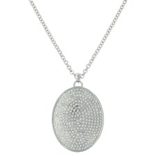 Beyond Shine Pave Necklace