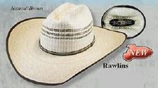 """Rawlins Palm Leaf 41/2"""" Brim 7 1/8 LG OV"""