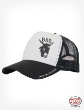 Bad A** Trucker Cap White