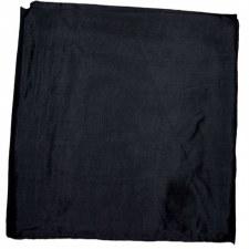 100% SILK WILD RAG BLACK