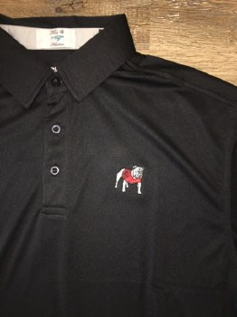 Fins & Feathers UGA Solid Gameday Polo