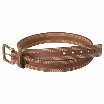 Mountain Khaki Triple Stitch Belt