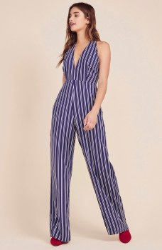 Jack All The Way Up Striped Jumpsuit