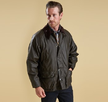 Mens Barbour Classic Bedale Waxed Jacket