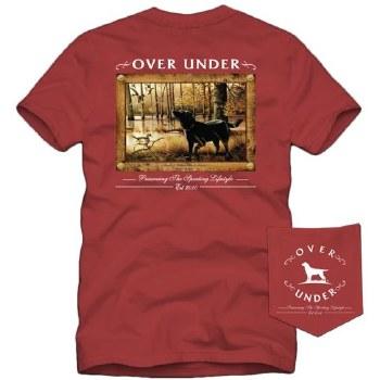 Over Under Short Sleeve Flooded Timber Black Magic T-Shirt