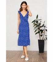 Lucy Paris Claudia Polka Dot Dress