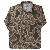 Over Under Duck Camo 1/4 Zip Jacket