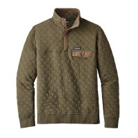 Patagonia Men's Organic Cotton Quilt Snap Pullover
