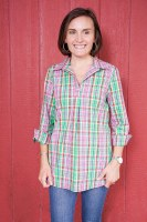 Haley and the Hound Popover Tunic