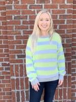 525 America Lurex Strip Sweater