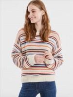 525 America Alex Striped Crewneck Sweater