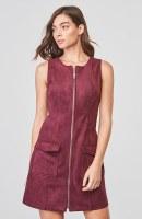 BB Dakota Havens Zip Front Dress