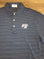 Fins & Feathers GSU Striped Gameday Polo