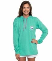 Southern Shirt Company Heathered Hoodie Tee