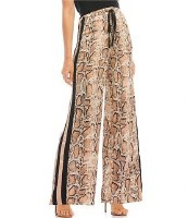 Lucy Snake Wide Track Pant