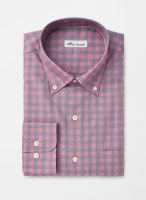 Peter Millar Crown Ease Stretch Woodbery Gingham