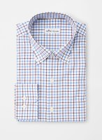 Peter Millar Crown Ease Stretch McCall Tattersall Sportshirt