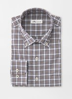 Peter Millar Crown Ease Strech Worth Tartan Sportshirt