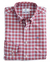 Southern Tide Linville Plaid Intercoastal Performance Shirt